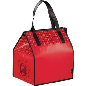 Advertising Laminated Non-Woven Insulated Big Grocery Tote