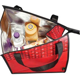 Laminated Non-Woven Insulated Big Grocery Tote for your School