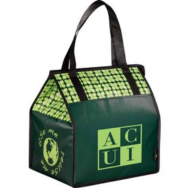 Branded Laminated Non-Woven Insulated Big Grocery Tote