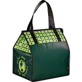 Laminated Non-Woven Insulated Big Grocery Tote for Marketing