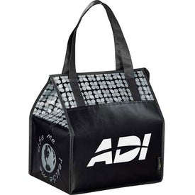 Imprinted Laminated Non-Woven Insulated Big Grocery Tote