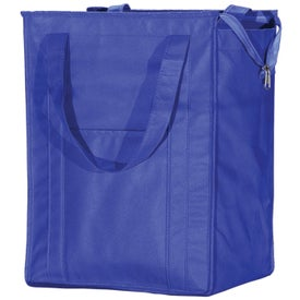 Logo Insulated Grocery Tote
