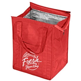 Advertising Insulated Grocery Tote