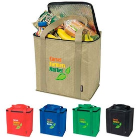 Insulated Grocery Tote Bag for Advertising
