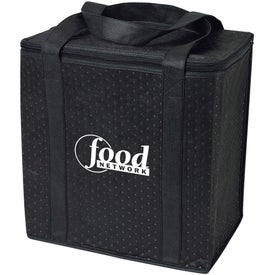 Logo Insulated Grocery Tote Bag