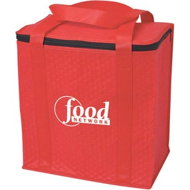 Insulated Grocery Tote Bag with Your Slogan