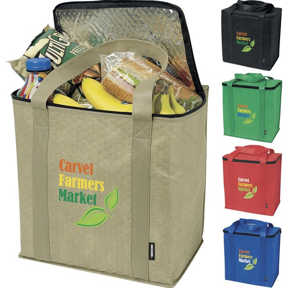 Detailed Photo Of Insulated Grocery Tote Bag