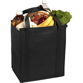 Insulated Large Non-Woven Grocery Tote Bag for Advertising