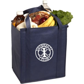 Customized Insulated Large Non-Woven Grocery Tote Bag