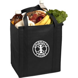 Insulated Large Non-Woven Grocery Tote Bag for your School