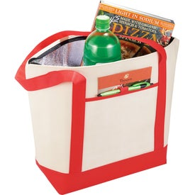 Insulated Lighthouse Boat Tote Cooler for Your Church