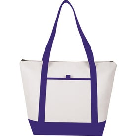 Printed Insulated Lighthouse Boat Tote Cooler