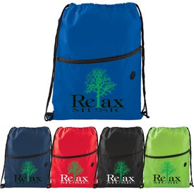 Insulated Zippered Drawstring Sports Pack