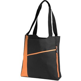 Promotional Incline Convention Tote Bag