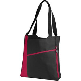 Printed Incline Convention Tote Bag