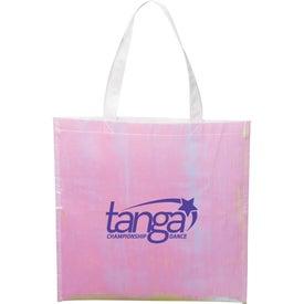 Iridescent Non-Woven Convention Tote Bag