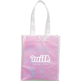 Iridescent Non-Woven Gift Tote Bags