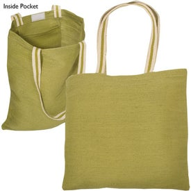 Juco Tote Branded with Your Logo