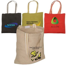 Juco Tote Printed with Your Logo