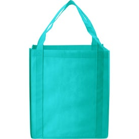Jumbo Nonwoven Grocery Tote Giveaways