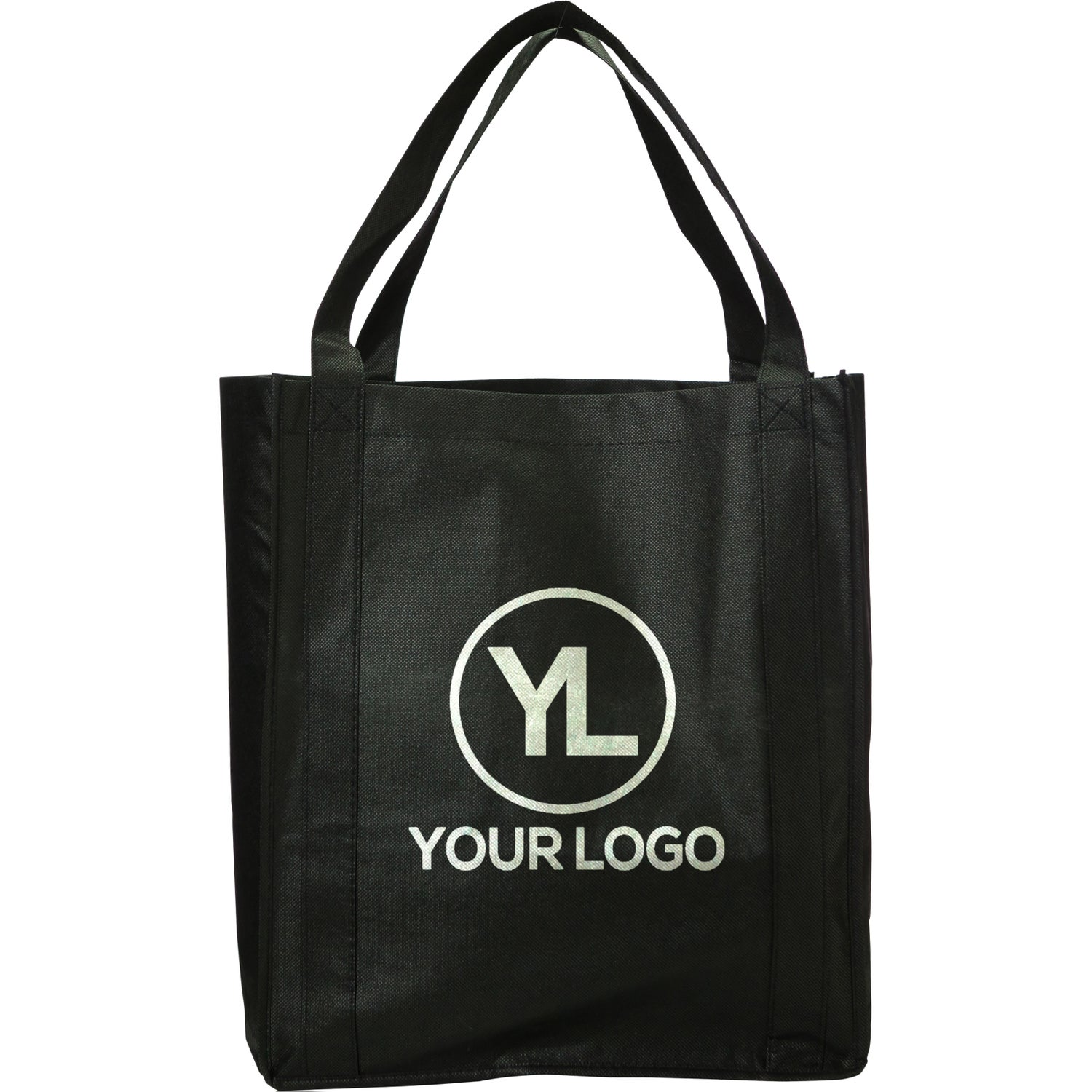 98dfcd0c91f Promotional Jumbo Nonwoven Grocery Totes with Custom Logo for  1.85 Ea.