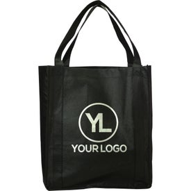 Printed Jumbo Nonwoven Grocery Tote