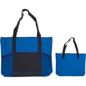 Jumbo Tradeshow Tote Bag Imprinted with Your Logo