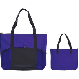 Jumbo Tradeshow Tote Bag with Your Slogan