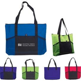 Branded Jumbo Tradeshow Tote Bag