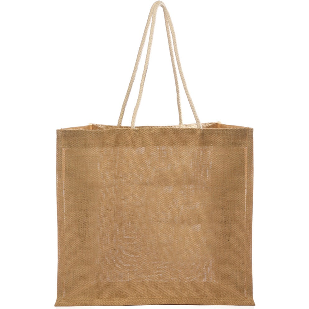 Jute Bag with Rope Handle