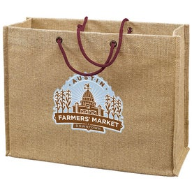 Jute Frankey Tote Bag Giveaways