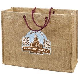Jute Frankey Tote Bag Giveaways