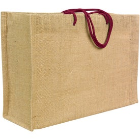 Jute Frankey Tote Bag for Your Church