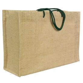Advertising Jute Frankey Tote Bag