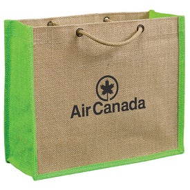 Jute Gift Tote Bag for Promotion