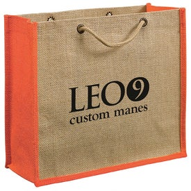 Advertising Jute Gift Tote Bag