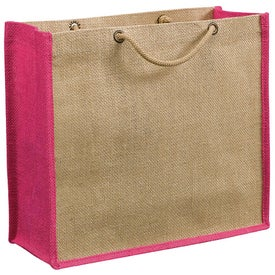 Company Jute Gift Tote Bag