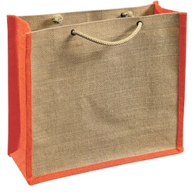 Jute Gift Tote Bag for Marketing