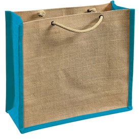 Personalized Jute Gift Tote Bag