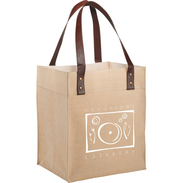 Natural Westover JuCo Grocery Tote Bag