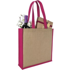 Promotional Jute Portrait Tote Bag