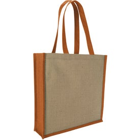 Jute Portrait Tote Bag for Your Company