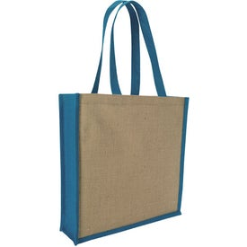 Jute Portrait Tote Bag for Customization