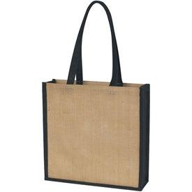 Personalized Jute Tote Bag