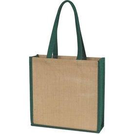 Jute Tote Bag for Advertising