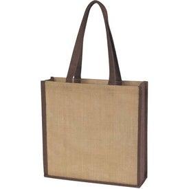 Company Jute Tote Bag