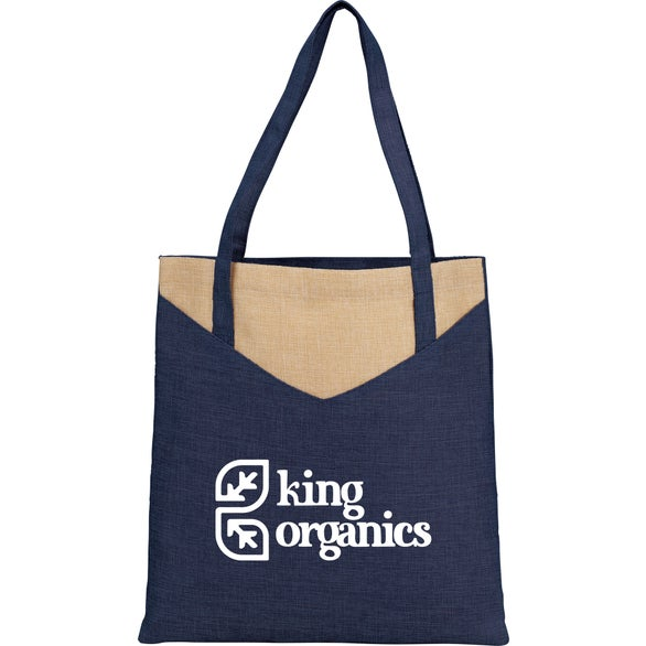 Navy Blue Kai Convention Tote Bag