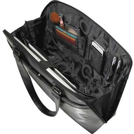Imprinted Kenneth Cole Frame Of Reference Compu-Tote