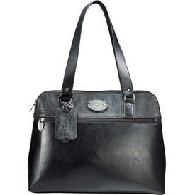 Monogrammed Kenneth Cole Frame Of Reference Compu-Tote