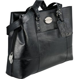 "Promotional Kenneth Cole ""Tripled The Size"" Compu-Tote"